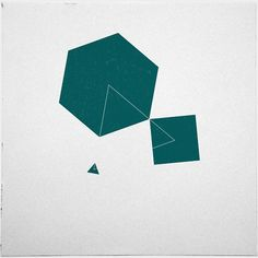 #196 Constellation – A new minimal geometric composition each day