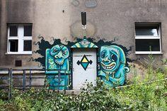 Abandoend and forgotten places in Berlin.     Sam Crew. Cuke    http://www.flickr.com/photos/berlin_streetart/sets/72157630191690894/