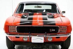 1969 Camaro z28 Matching Numbers Orange black stripes Camaro