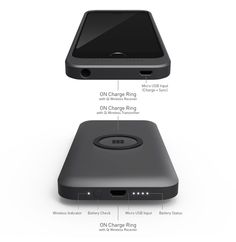 ON - Magnetic Portable Wireless Charging For iPhone And More by RUBIX — Kickstarter