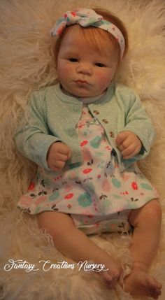 Reborn Babies for Sale, Reborn Baby, Reborn Doll.  This is Lavender Awake.