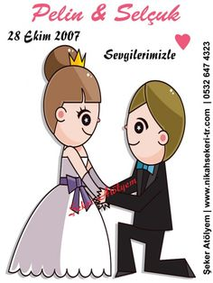 Nikah Şekeri İsim Etiketi #etiket #nikahşekerietiketi #wedding