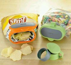 Stale chips, no more!!!! So genius