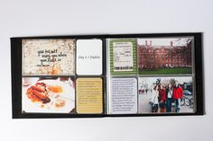 Mini Album pages by Heather Burris featuring the Sunshine Edition
