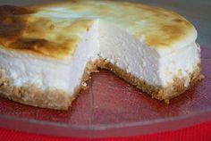 Tarta de Queso Fresco 0%. Baja en Azúcar y Sin Grasa | Comparterecetas.com