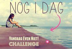 Vandaag kun je je nog tot 18 uur aanmelden voor deze challenge Vandaag Even Niet! http://dereizendeondernemer.nl/ven-challenge/ (22-06-2015)