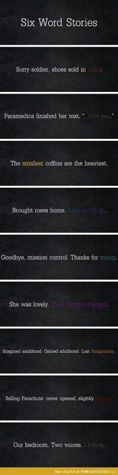 The shortest stories