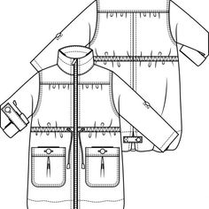Mei, Fabric Combinations, Love You, Couture, Patterns, Sewing, Easy, Vest Coat, Block Prints