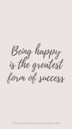Inspirational Quote about Happiness and Success - Visit us at InspirationalQuot... for the best inspirational quotes! ...repinned für Gewinner! - jetzt gratis Erfolgsratgeber sichern www.ratsucher.de