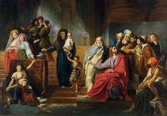 * François-Joseph Navez - - - Obole de la veuve par (L') - (014-003)