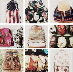Bag packs!