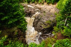 Copper Falls, Wisconsin  #falls #wisconsin #nature #travel #wanderlust