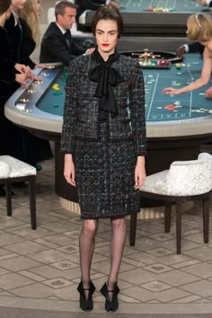 Chanel Haute Couture Fall 2015 at Grand Palais