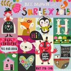 print & pattern: SURTEX 2015 - bee brown