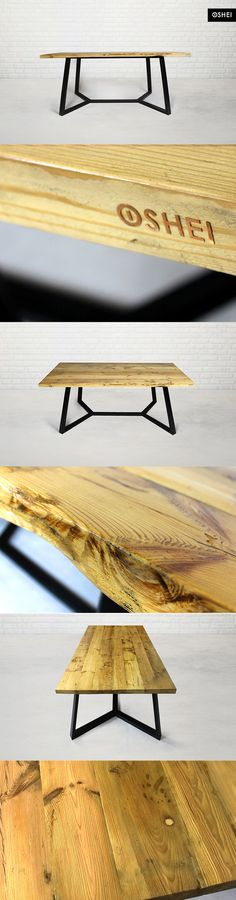The project o f a table based on the planks from old railway carriages, carrying passengers round Lower Silesia 90 years ago. We decided to break the wood texture with modern lump of the legs. The effect you can see yourself… but we always have this awareness that the images reflect only a fraction of the true climate of furniture.