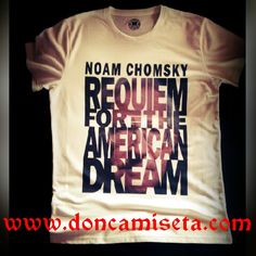 Camiseta Urbana Personalizada Noam Chomsky #tee #tshirt