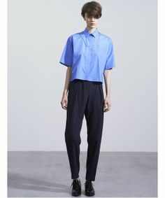 Blue short sleves shirts JOHN LAWRENCE SULLIVA