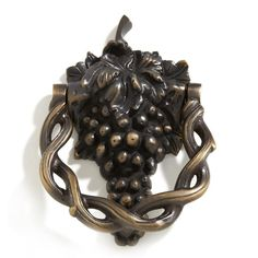 Grapevine+Brass+Door+Knocker Signaturehardware.com $50