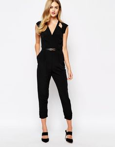 Image 1 ofRiver Island Cut out Jumpsuit