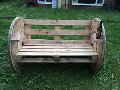 Pallets Wood Seating Ideas