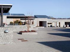 Arkitema Architects - Slotshusene  -  Danish semi-detached villas.