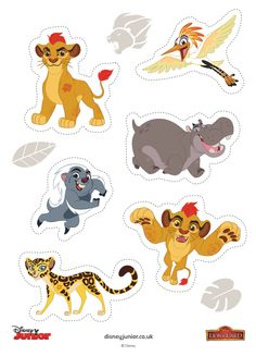 Lion Guard party favor ideas - Make DIY Lion Guard stickers with free Lion Guard sticker templates - print on label paper. Jungle Theme Birthday, Lion King Birthday, Jungle Party, Lion Guard Birthday Cake, First Birthday Presents, Lion King Cakes, Lion King Party, Lion King Baby Shower, Le Roi Lion