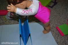 How to Make an American Girl Gymnastics Mat