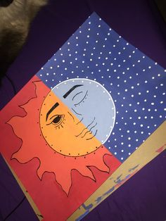 Small Canvas Paintings, Easy Canvas Art, Small Canvas Art, Cute Paintings, Mini Canvas Art, Hippie Painting, Trippy Painting, Cartoon Painting, Pintura Hippie