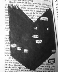 For librarians around the world! #blackoutpoetry #poetry #librarian