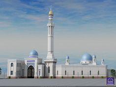 Реконструкция мечети от SDS PROEKT