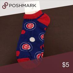 Chicago Cubs socks size medium Brand-new Chicago Cubs socks size medium women's 6 to 11 Accessories Hosiery & Socks