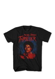 c0115942093 Mad Engine Short Sleeve Michael Jackson Thriller Graphic Tee