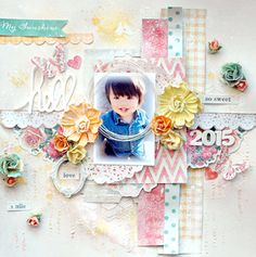 Maiko - My Creative Scrapbook Kit Club with exclusive sketch and add-ons!