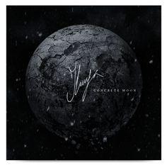 Ilunga - Concrete Moon by Sergey Gladinov, via Behance Cd Artwork, Cover Design, Concrete, Behance, Moon, Celestial, Album, Inspiration, The Moon