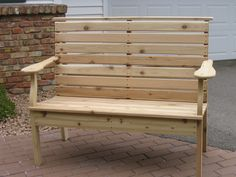 Park Bench Project: Completed!
