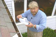 How to Clean Debris from Gutters and Downspouts • Ron Hazelton Online • DIY Ideas & Projects
