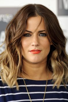 Caroline Flack - Hair Cut & Colour - yes please