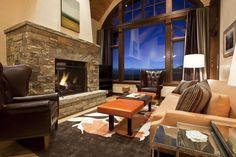 Courcheval interiors, Mountain Village, Colorado. Photo taken for Tweed.
