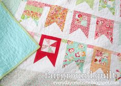 Fairground Quilt « Moda Bake Shop - need to make another one of these