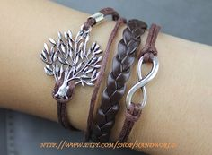 beautiful wishing tree bracelet infinity karma by handworld, $5.59