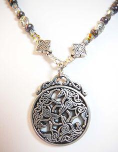 Celtic Horse Necklace