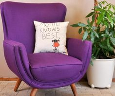Perna Be nice to me - Vivre. The Man From Earth, Wingback Chair, Armchair, Pillow Fight, Cushions, Pillows, Pink Elephant, Tooth Fairy, Egg Chair