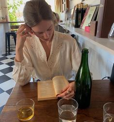 Orange wine and Hemingway. European Summer, Italian Summer, Book Aesthetic, Summer Aesthetic, Aesthetic Makeup, You Are My Moon, Old Money, France, Photo Dump