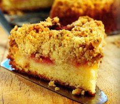 Plum Streusel Cake Recipe - http://www.allbakingrecipes.com/recipes/plum-streusel-cake-recipe/