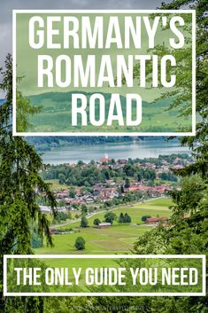 Germany's Romantic Road - The only guide you need - Explore fairytale villages, castles and medieval walled towns along popular tourist route, the Romantic Road Germany. Discover the highlights of thi Plan Europe, Romantic Road, Germany Castles, Wanderlust, Travel And Leisure, Travel Tips, Travel Guides, Road Trip Hacks, Roadtrip
