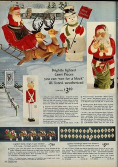 Vintage Christmas Outdoor