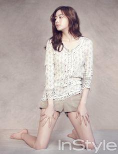Kang Sora - InStyle Magazine July Issue '13