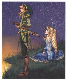 Link and Zelda Forever by Beauregardtjangles.deviantart.com