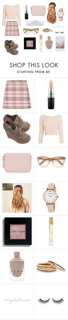 """Untitled #232"" by coolcatsintown on Polyvore featuring Cameo Rose, MAC Cosmetics, Coast, Wildfox, Hershesons, Emporio Armani, Bobbi Brown Cosmetics, Burberry, Nest and Natural Life"
