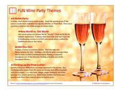 Host a Blind Wine Tasting Party with a Fun Theme